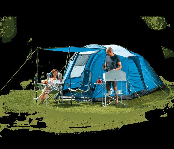 Atlanta Air 4 Person Tent